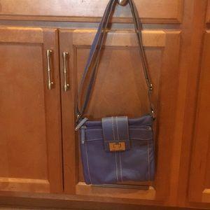 Tignanello blue purse